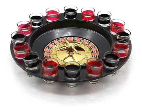 x5 juego ruleta casino shots tragos licor tequila / 204001