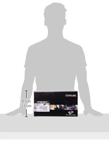 x746h4kg negro 12000 rendimiento de páginas cartucho de tó