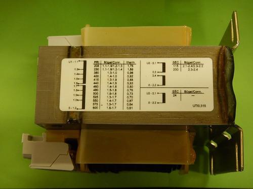 xa transformador multitap 1 fase 315va eaton utio,315-115