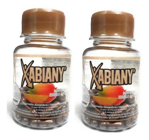 xabiany mango africano naturacastle 30caps (2 pz) envio full