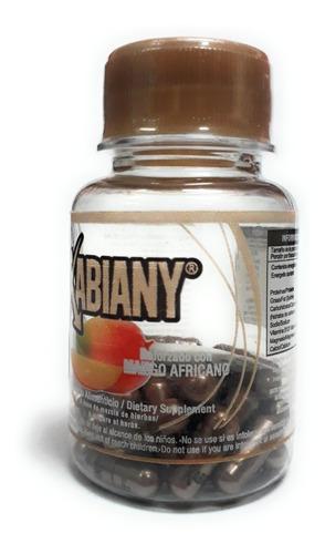 xabiany mango africano naturacastle 30caps (4 pz) envio full