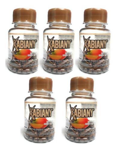 xabiany mango africano naturacastle 30caps (5 pz) envio full