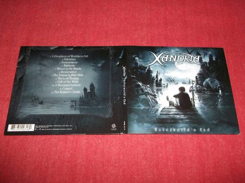 xandria - neverworlds´s end cd imp ed 2012 mdisk