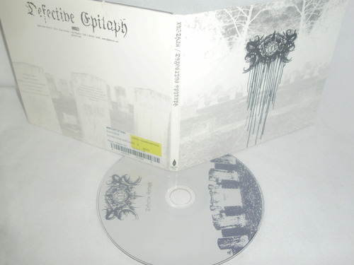xasthur ~ defective epitaph (black usa digipack) $7.500