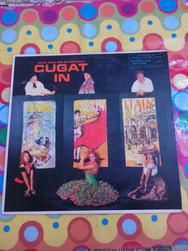 xavier cugat in france, spain & italy lp