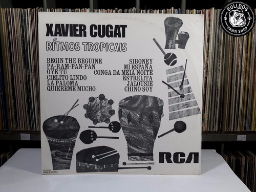 xavier cugat rítmos tropicais 1971 rca - veja o video- dj