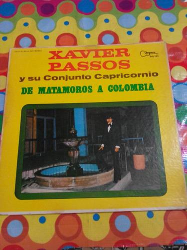 xavier passos lp de matamoros a colombia 1977