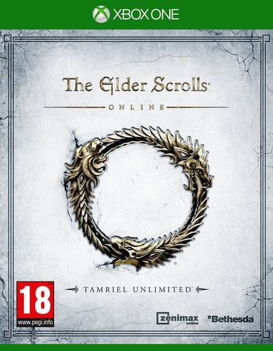 xb1 - the elder scrolls online - usado impecable - ag