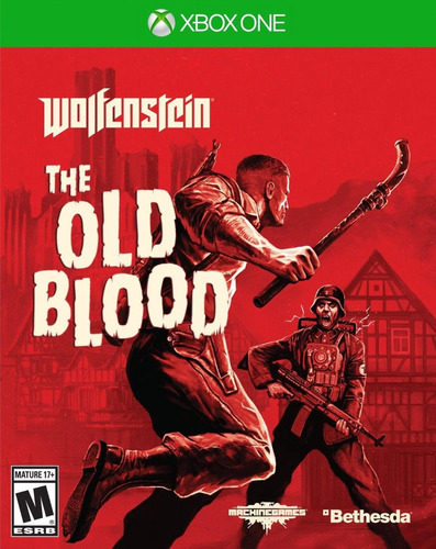 xb1 - wolfenstein the old blood - usado impecable - ag