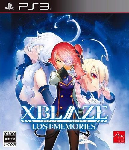 xblaze: lost memories zaffron ps3