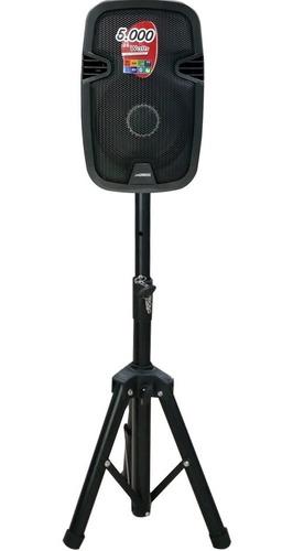 xboss parlante amplificad 5000w recargable bluetooth soporte