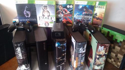 xbox 360 1 controle 1 jogos diversão em família!!!