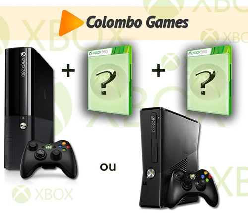 xbox 360 2 jogos originais.