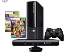 xbox 360 250gb com kinect 1 controle e tres jogos originais