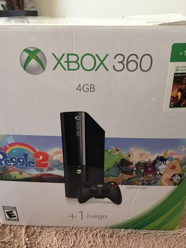 xbox 360 + 3 juegos