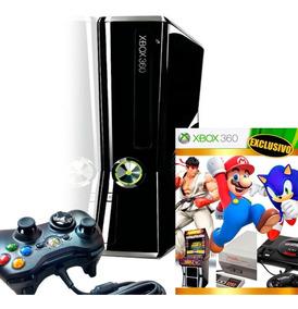 Xbox 360 4gb Emuretro 2019 Clásicos De Nintendo Sega Arcade