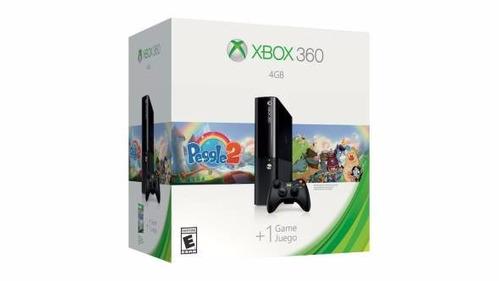 xbox 360 4gb + peggle 2 bundle