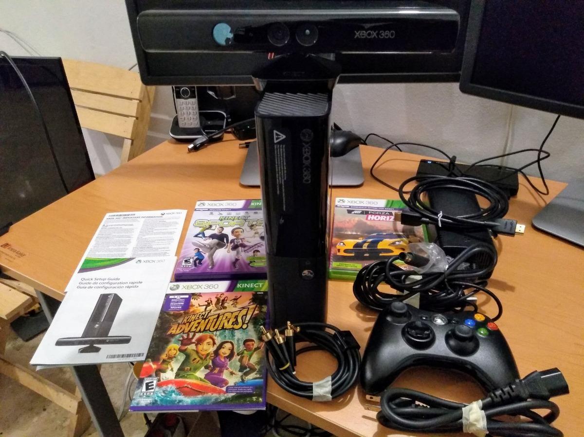 Xbox 360 Kinect 500gb 10 Juegos 1 Control Hdmi En Caja Origi