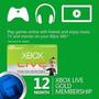 Xbox Live Gold 12 Meses Worldwide - Entrega Inmediata 5 Min!