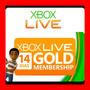 Xbox Live Gold 14 Dias Membresia Envio Gratis Oferta