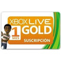 Membresia Xbox Live Gold 1 Mes 360 Y One