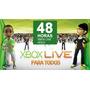 Membresia Xbox Live 48h