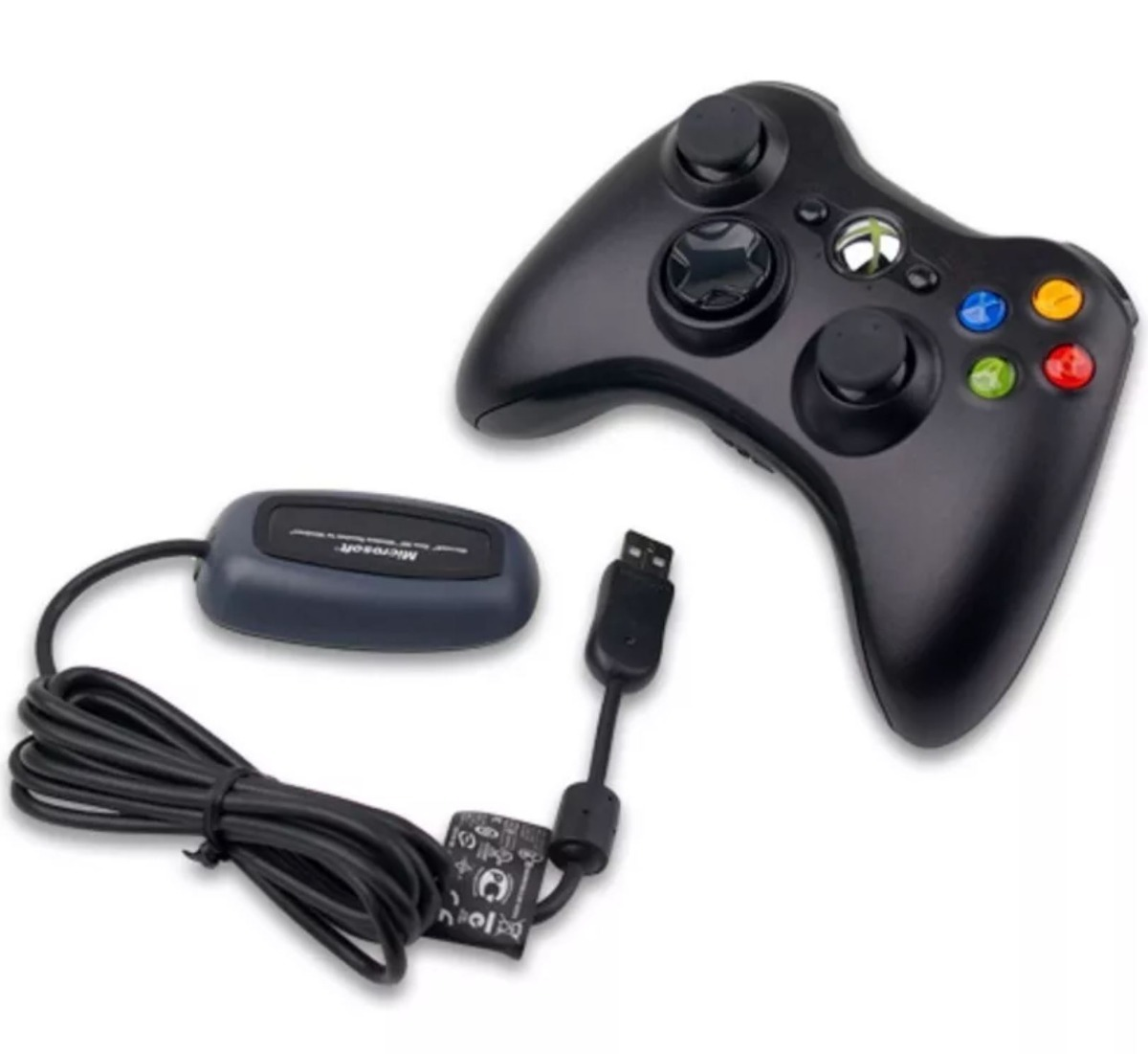 receptor inalambrico control xbox 360 para pc adaptador cont en mercado libre. Black Bedroom Furniture Sets. Home Design Ideas