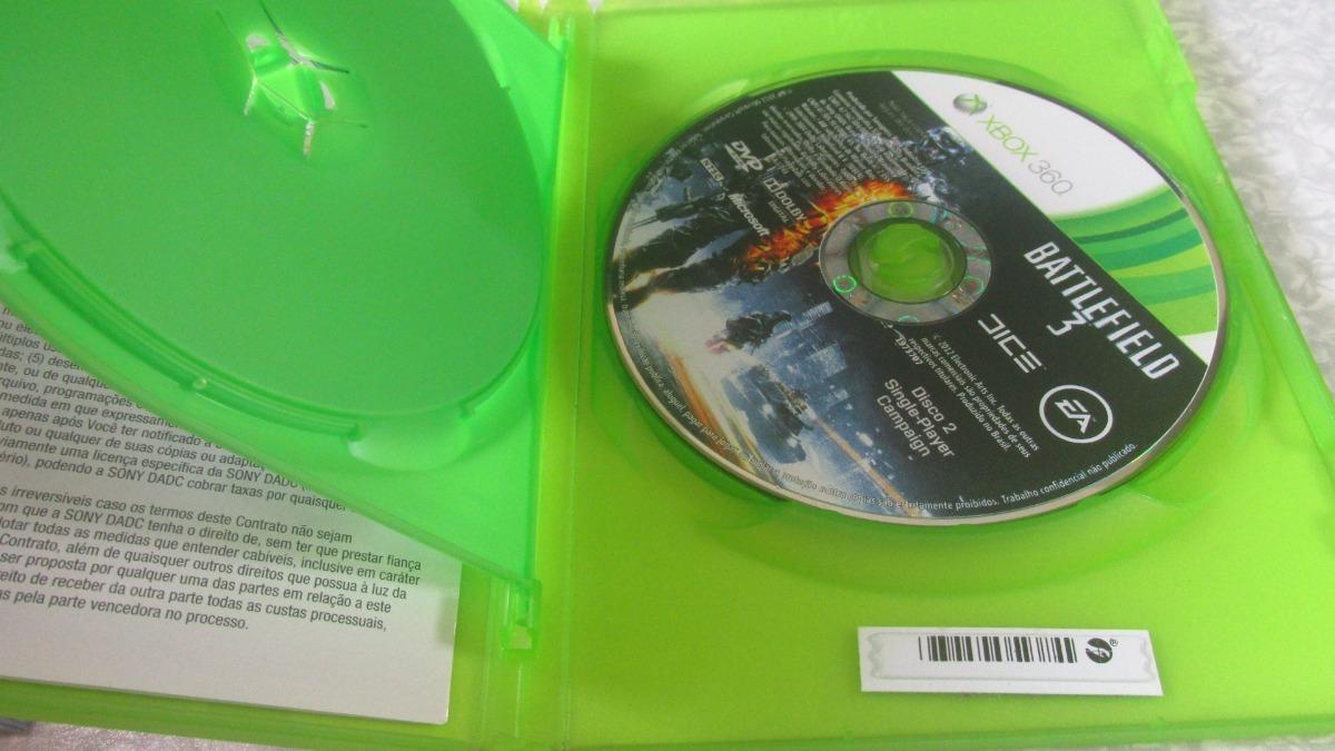 Xbox 360 - Battlefield 3 Premium Edition - Mídia Física