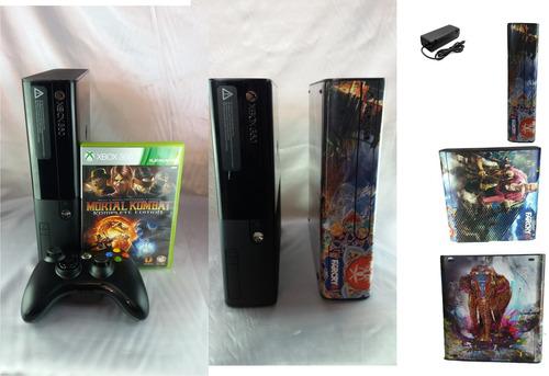 xbox 360 com kinect 1 controle 2 jogos incrivel.