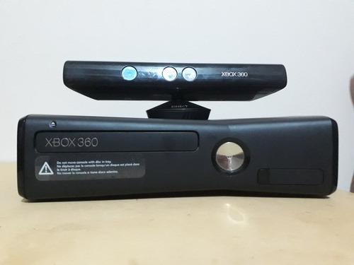 xbox 360 completa rgh 75 juegos 20gb + kinect + 2 joysticks