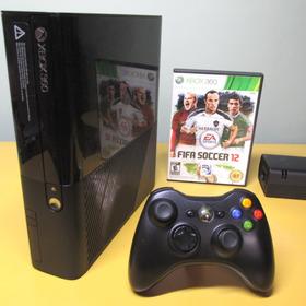 Xbox 360 Completo Com Jogo   Videogame Original De Fábrica