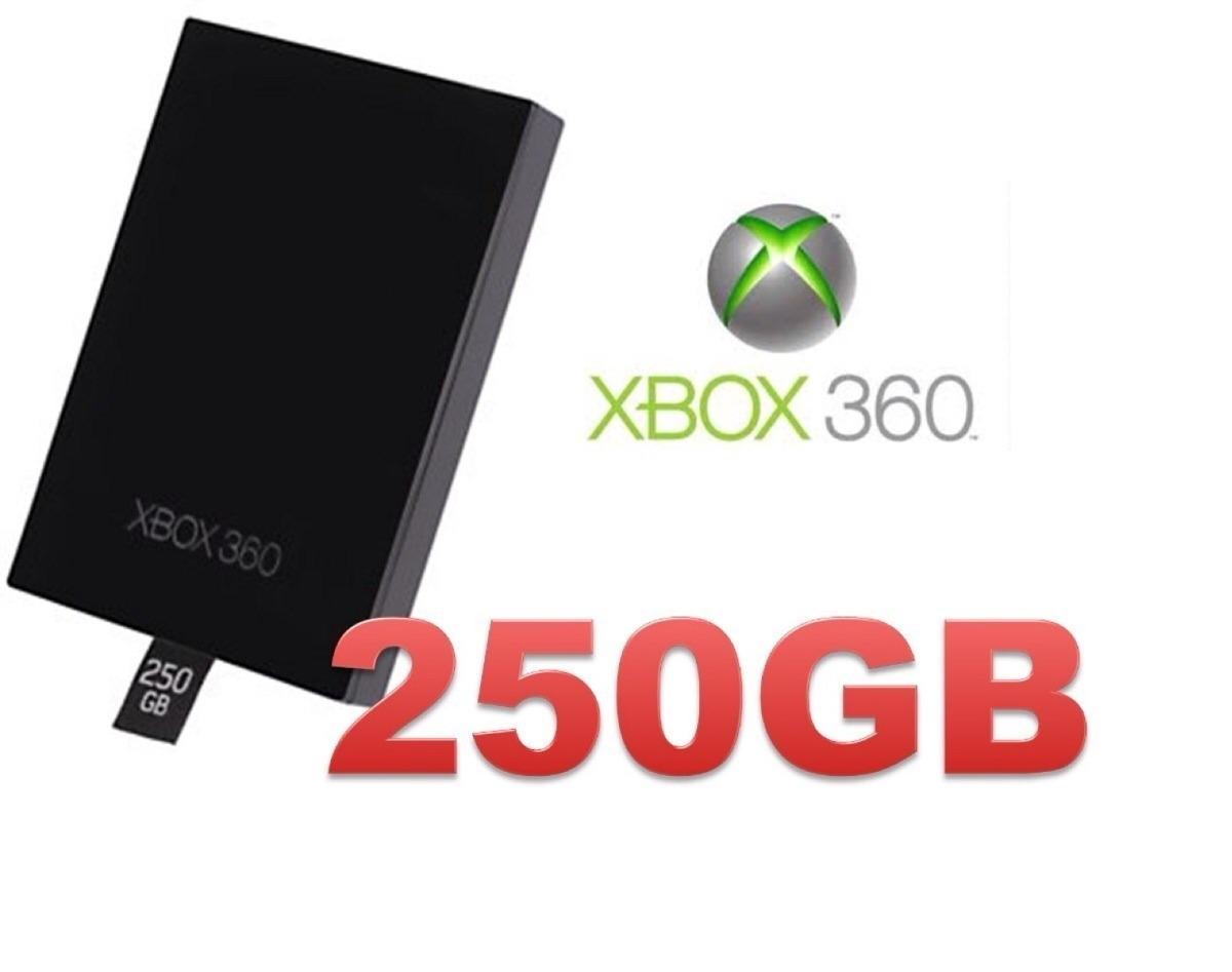 Disco duro de 250gb para xbox 360 slim con chip rgh j tag for Precio logo