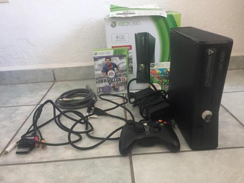 xbox 360 con fifa 13 y juego extra, un control + cable hdmi