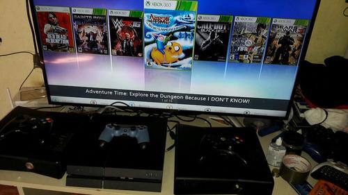 xbox 360 con juegos en disco duro 250 gb