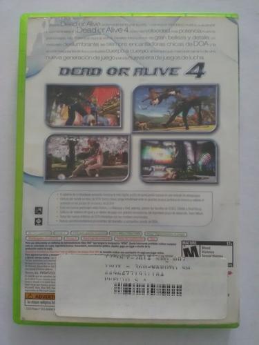 xbox 360 dead alive