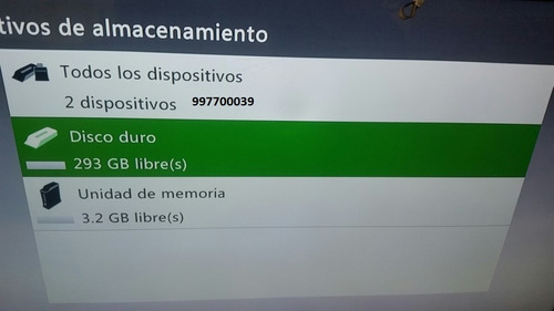 xbox 360 disco duro 320gb - fat -slim