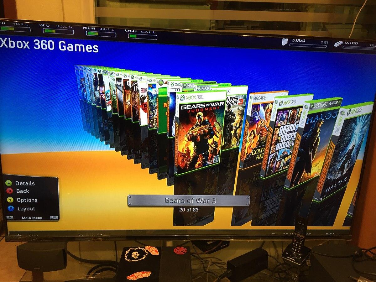 Xbox 360 E Con 89 Juegos Mas Nuevos En Disco Duro Envio Gra