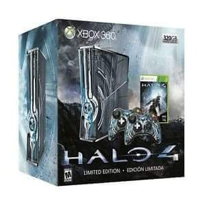 xbox 360 edición limitada halo 4. 320 gb.