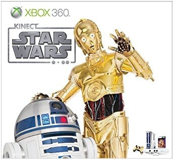 xbox 360 edición limitada kinect star wars bundle