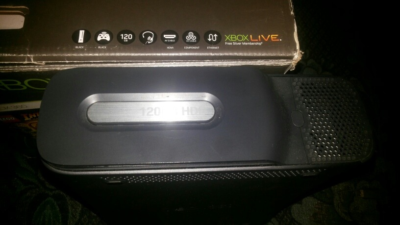 Xbox 360 Fat Elite 120gb Chip Lt3 0 - Bs  25 000,00