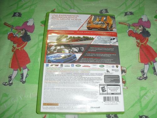 xbox 360 forza motorsport
