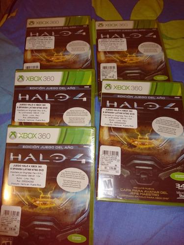 xbox 360 halo juego