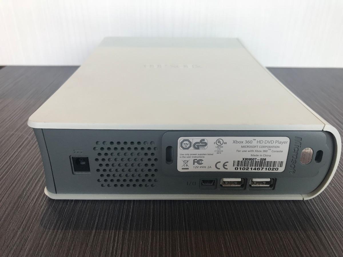 Xbox 360 Hd Dvd Player  Solo Para Coleccionistas $1,149