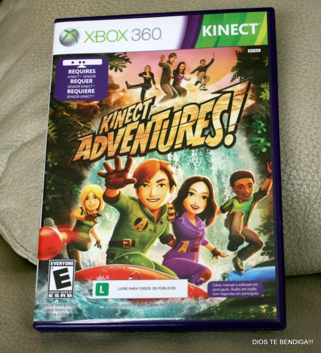 Xbox 360 Juego Kinect Adventures 20 990 En Mercado Libre