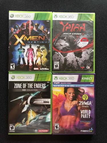 xbox 360 juegos nuevos originales y sellado c/u a 100 soles!