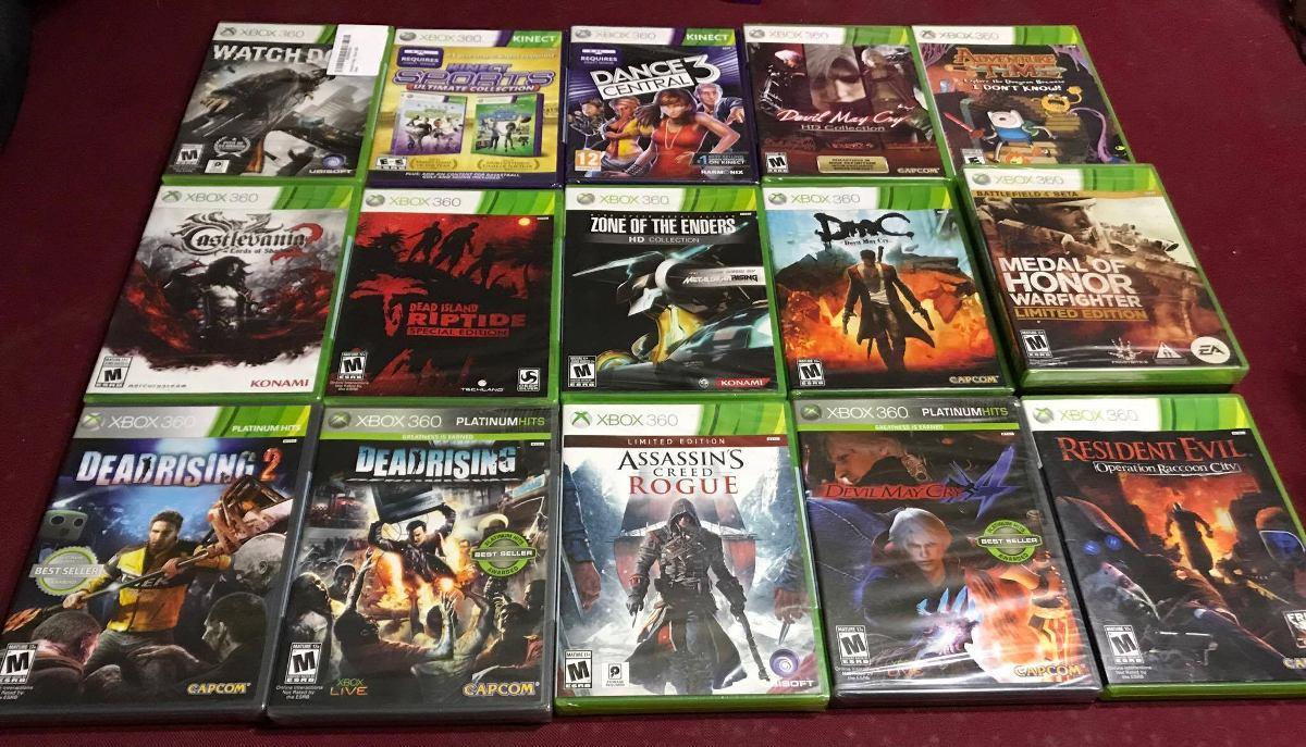 Xbox 360 Juegos Nuevos Originales Y Sellado C U A 100 Soles S