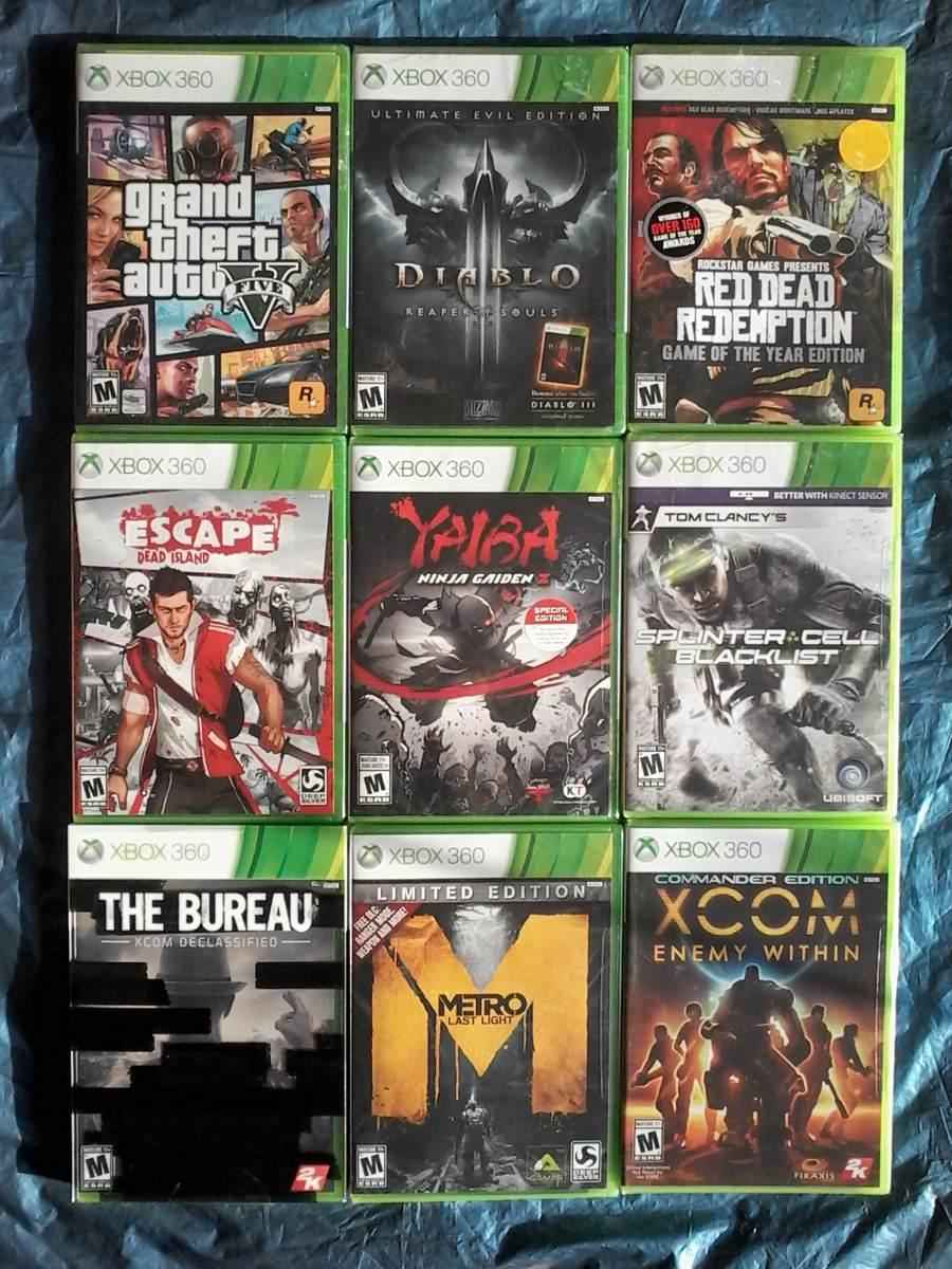 Xbox 360 Juegos Nuevos Originales Y Sellados A S 150 C U S 150