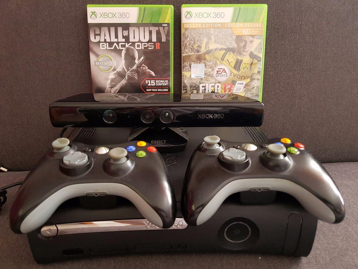 Xbox 360 Kinect 2 Controles 2 Juegos 2 800 00 En Mercado Libre