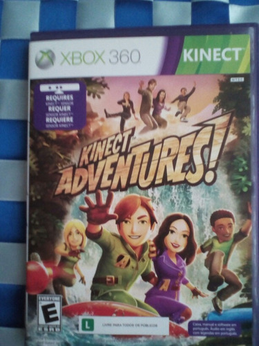 xbox 360 kinet  adventures para todo público