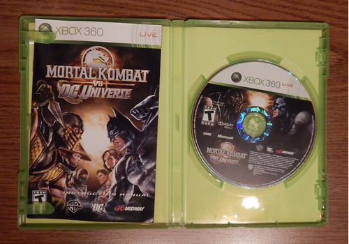 xbox 360 kombat universe videojuego